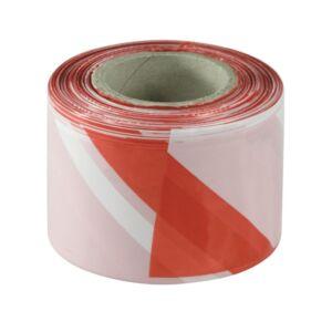 Bandă de delimitare și semnalizare 70mmx200m alb-roșu