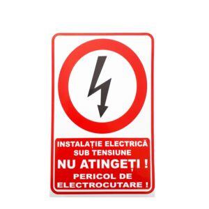 Indicator nu atingeti pericol electrocutare