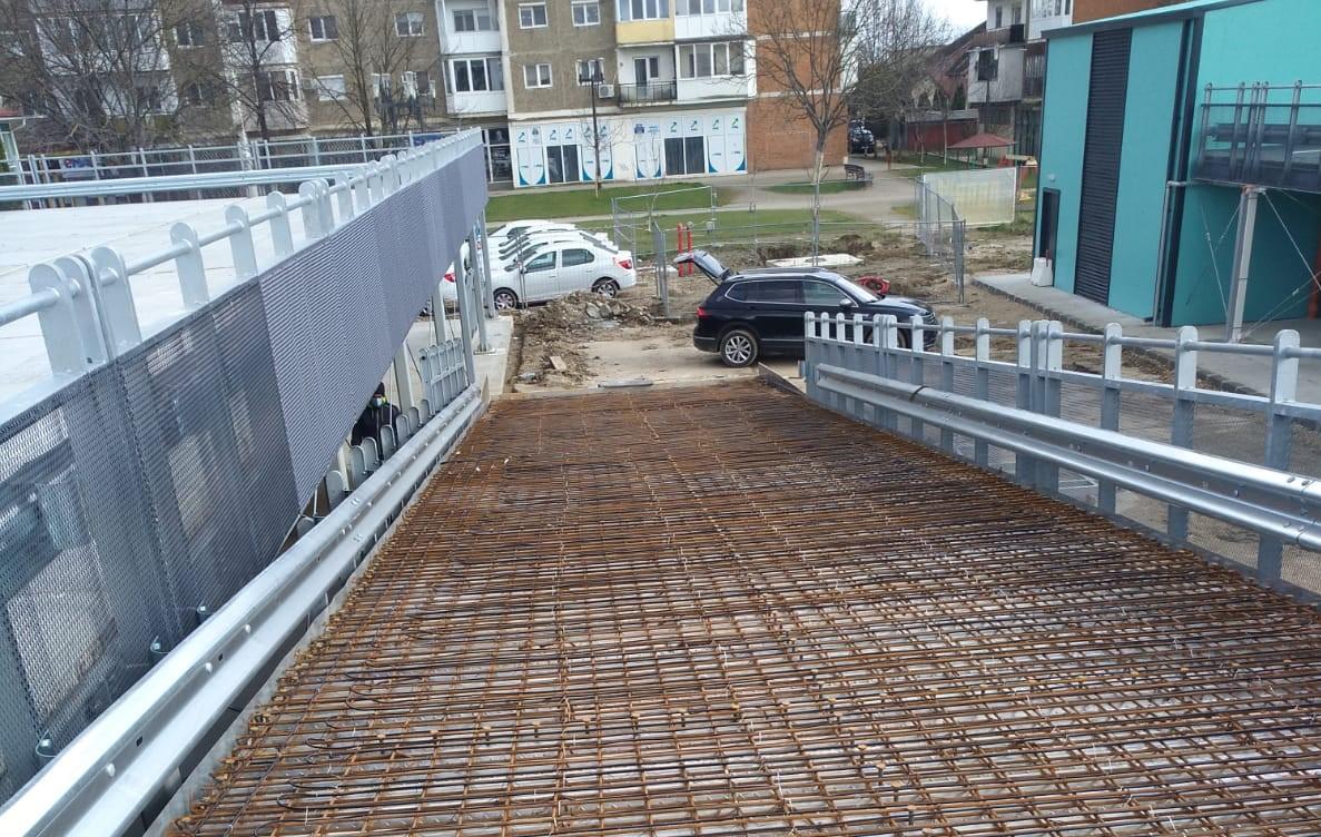 Cabluri de degivrare in beton