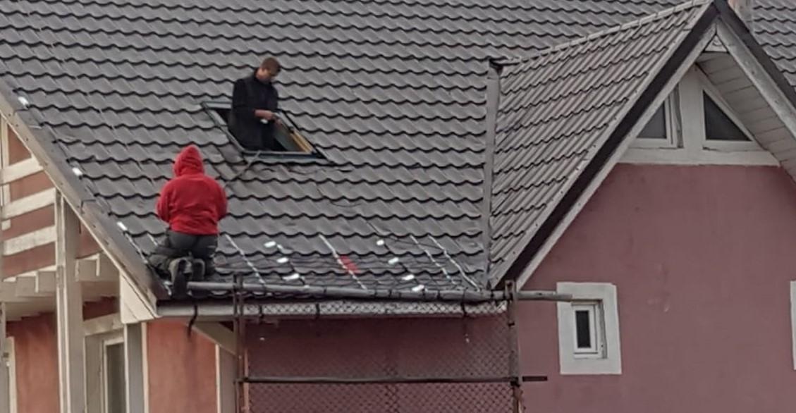 Degivrare acoperis - Pensiune Straja