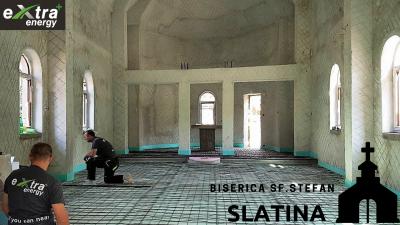Incalzire electrica - Biserica din Slatina